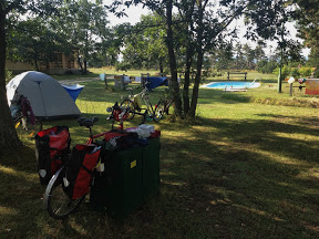 CAMPING NEXT TO THE ZOO IN VESZPREM