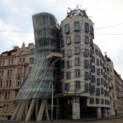 DANCING BUILDING, PRAGUE