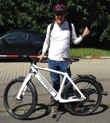 STROMMER 45kmph (27.9 mph) Range !50km 93 miles) 6000 EURO ($7874)