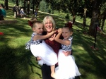 MARY WITH GRANDKIDS