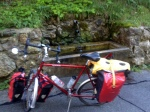 ONE OF MANY FRESH WATER STATIONS, SUPER GREAT WHILE BIKING