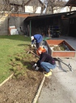MAKING THE NEW GARDEN WITH NATASA AND HER DAD, FRANC