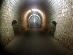 THE TUNNEL WAS PERFECTLY DRY, IT WAS IN AMAZING SHAPE