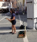 HE WAS PLAYING OLD ALLMAN BROTHERS TUNES, I TIPPED HIM 5 EURO