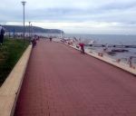 THE BIKE PATH FROM IZOLA TO PIRAN FOLLOWS RIGHT ALONG THE WATER