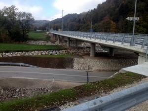 FINISHED BRIDGE & RETAINING WALLS