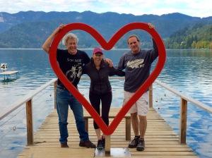 LOVE ON LAKE BLED
