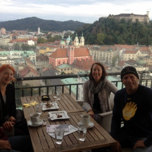 BEST COFFEE AND VIEWS IN LJUBLJANA