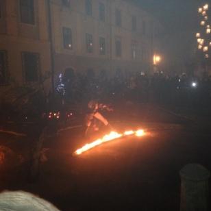 FIRE DANCE IN THE SQUARE