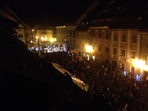 ONE OF MANY CONCERTS IN THE OLD TOWN
