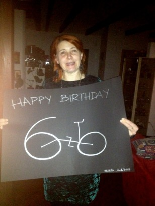 NATASA'S GREAT TURNING 60 SIGN