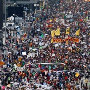 THE ESTIMATES WERE 50,000 CONCERNED CITIZENS