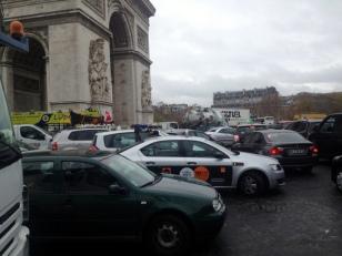 PARIS TRAFFIC IS CRAZY
