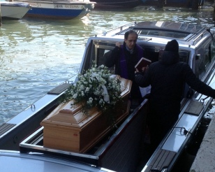 IF THE AMBULANCE BOAT IS LATE, THERE'S ALWAYS THE FUNERAL BOAT