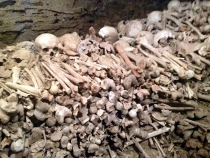 BONES IN BASEMENT OF CHURCH