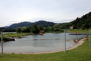 CAMPING AND SWIMMING