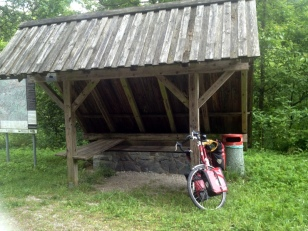 BIKE REST AREAS
