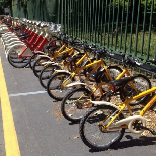 THIS IS THE FIRST TIME I'VE SEEN KID BIKE SHARES