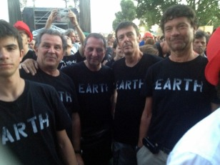 "THE OFFICAL ""EARTH"" SHIRTS WERE VERY POPULAR"