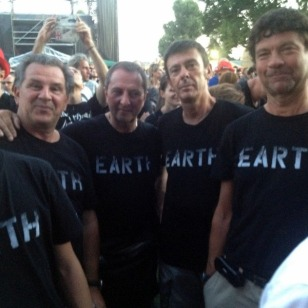 """THE OFFICAL """"EARTH"""" SHIRTS WERE VERY POPULAR"""
