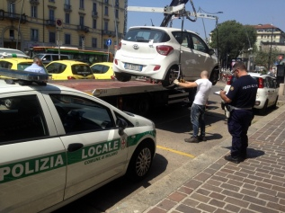 MILAN HAS A PARKING PROBLEM