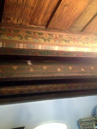 HAND PAINTED BEAMS