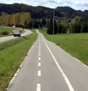 WELL MAINTAINED BIKE PATHS