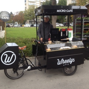 E-BIKE COFFEE SHOP