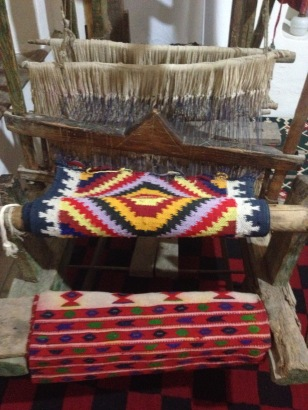 RUG LOOM AT ETHNOGRAPHIC MUSEUM