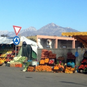 GREAT ROADSIDE FRUIT STANDS