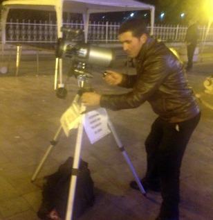 TELESCOPE IN THE SQUARE