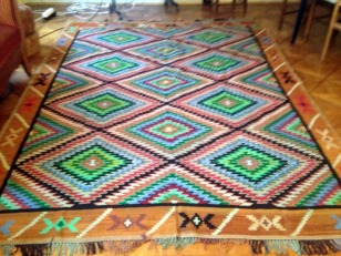 100 YER OLD TRADITIONAL RUG
