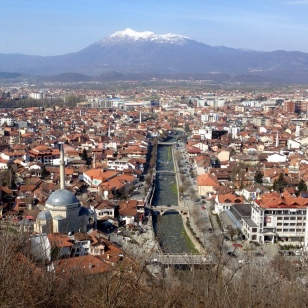 PRIZREN FROM CASTLE