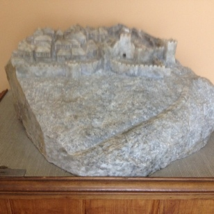 CARVED STONE OF CASTLE GROUNDS