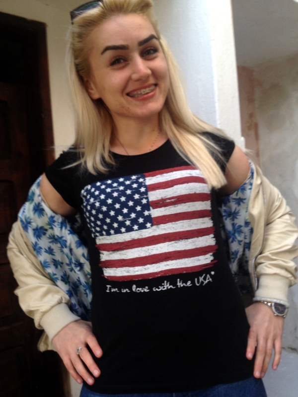 """""""I'M IN LOVE WITH THE USA"""""""