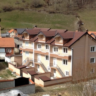 SOME NEW HOUSING IN BROD