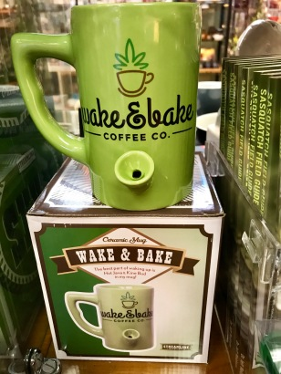 WAKE & BAKE COFFEE CUP (BONG AND CUP)
