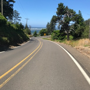 RIDING TO CAPE MEARS