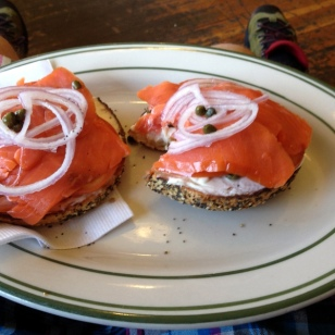 LOX AND BAGELS-AWESOME