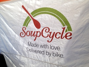ONLY IN PORTLAND, SOUP DELIVERED BY BIKE TO YOUR HOME