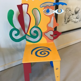 ART GALLERY CHAIR