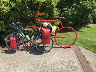 HOPING MY BIKE TURNS RED