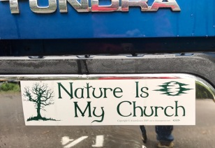 AS SEEN ON TRUCK IN CAMPGROUND