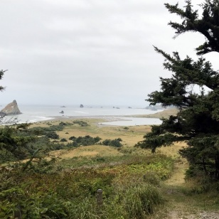 HIKING AT CAPE BLANCO