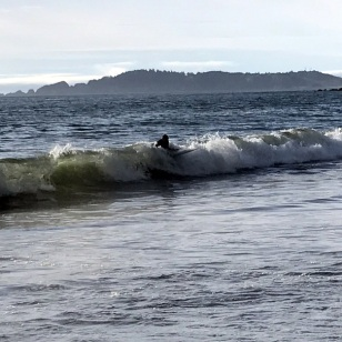 TRYING TO SURF IN OREGON