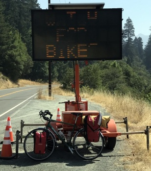 BIKE AWARENESS SIGNS EVERYWHERE!