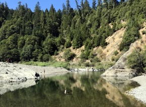 "EEL RIVER SWIM HOLE ""THE BEST FOR SURE"""