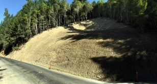 ONE OF MANY LANDSLIDES
