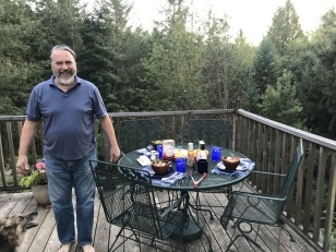 EATING ON THE DECK