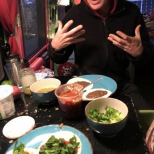 AFTER RIDE BEAN TACOS
